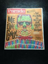 "Parade Magazine Oct 27, 2013 ""Love Me Candy"" What America Eats - Simon Cowell"