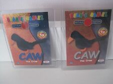 TY Caw the Crow Series 2 Silver Birthday/Rookie Card-MINT!!!!