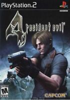 Resident Evil 4 (PlayStation 2 PS2) *COMPLETE*