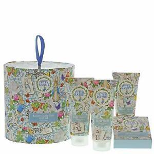 Beatrix Potter Peter Rabbit Ladies Body Care Clean Linen Toiletry Gift Set New
