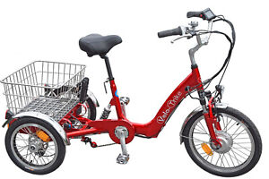 Velo 3 Rad 22E Elektro Dreirad Trike Allrounder Komfortrad in 2 Farben
