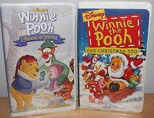 Winnie the Pooh and Christmas Too, Seasons of Giving, Disney VHS Videotapes