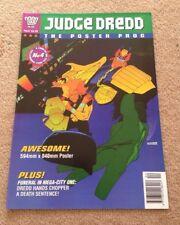 2000AD Judge Dredd Poster Prog Issue Number 4 Wagner & MacNeil Rare Comic 1994