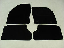 Ford Focus 2005-2011 Fully Tailored Car Mats in Black.
