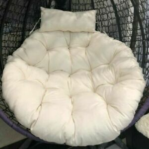 Outdoor Indoor Papasan Cushion Hanging Swing Egg Chair Garden Rattan chair Mats