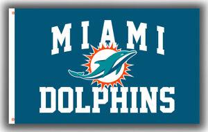 Miami Dolphins Football team Memorable flag 90x150cm 3x5ft Fan Best banner