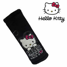 HELLO KITTY SAFETY BELT PAD CAR SEAT BELTS COVER FOR KIDS GENUINE DISNEY BL NEW