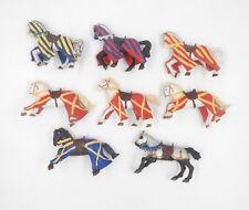 Papo Ritter Pferde / Turnierpferde / knight horses - Spielfiguren