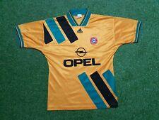 FC Bayern München Trikot M 1993 1994 Adidas shirt jersey 93/94 Away Opel Gelb