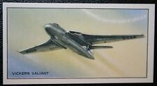VICKERS VALIANT   Royal Air Force V Bomber  Vintage Picture Card EXC