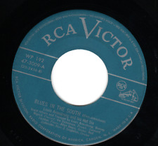 "Louis Armstrong & His Hot Six RCA 47-3009 ""BLUES IN THE SOUTH"" (GREAT JAZZ)"