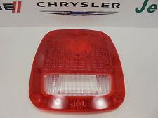84-16 Dodge Jeep Ram New Taillamp Tail Lamp Lens Cover Mopar Factory Oem