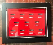 WALL MOUNT Cardinals World Series Replica Ring Display. #1 SELLING RING CASE!!!!