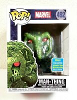 Funko POP! Marvel Man-Thing #492 Vinyl Figure SDCC 2019 Limited Edition