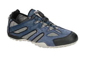 Geox Schuhe SNAKE blau Herrenschuhe Sneakers U4207J 02214 C0024 NEU