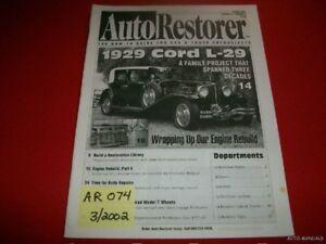 AUTO RESTORER - 1929 CORD L-29 SPORT SEDAN  3/02