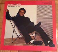 Johny Mathis - You Light Up My Life LP Record Vinyl 86055 CBS Records 1978