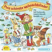 PIXIS SCHÖNSTE WEIHNACHTSLIEDER HÖRBUCH HAMBURG  ROLF ZUCKOWSKI/+ CD NEU