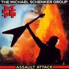 MICHAEL SCHENKER GROUP ASSAULT ATTACK CD (2009 Remastered with BONUS TRACK)