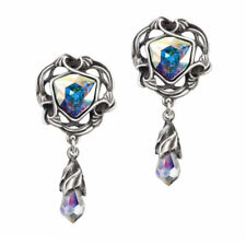 EMPYREAN EYE EARRINGS Alchemy Nouveau Style Crystal Gothic Droppers + FREE BOX