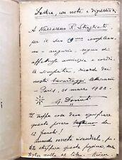 "DÉDICACE de GIUSEPPE DONATI — in  PAUL VALÉRY - ""VARIÉTÉ"" - NRF-Gallimard 1928 -"