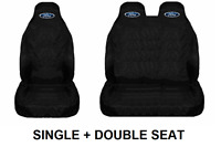 FORD Van Seat Covers Protectors Heavy Duty Waterproof - Fits Transit MK6 MK7