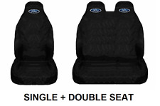 FORD Van Seat Covers Protectors Heavy Duty Waterproof - Transit Mk8 / Custom