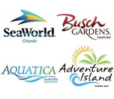 SEAWORLD ORLANDO & AQUATICA BUSCH 2 OR 3 DAY TICKET $86 PROMO DISCOUNT SAVINGS