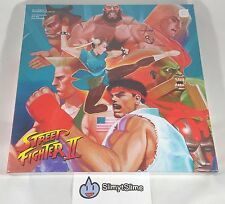 Street Fighter II 2: The Definitive Soundtrack - 4xLP Vinyl Record Box Set NEW!