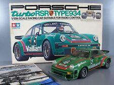 Vintage 1970s Tamiya 1/12 Porsche 934 Turbo RSR RA-1201 Model Radio Control Car