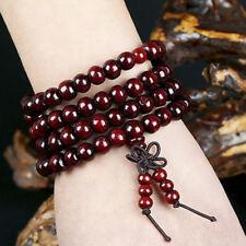 Sandalwood Tibetan Buddhism Mala Sandal Prayer Beads 108 Beads Bracelet  FL