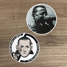 "Linkin Park Chester Bennington 4"" Wide Vinyl Sticker Set - Free Shipping"