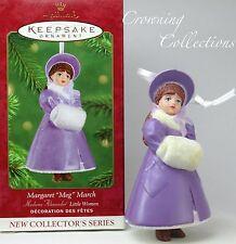 2001 Hallmark Margaret Meg March Ornament Madame Alexander Little Women Series 1