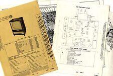 RCA VICTOR - MODELS 21-D-461 TO 24-T-6287   PHOTOFACT FOLDER - SERVICE MANUAL