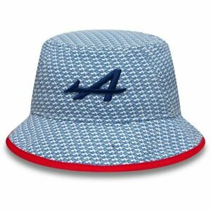 Alpine Racing F1 2021 New Era Team Special Edition France GP Bucket Hat