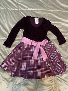 Girls Bonnie Jean Layered Casual Formal Dress Size 5