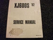 Yamaha XJ600S 1992 Service Information Manual