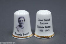 Figures/Characters UK & Ireland Collectable China Sewing Thimbles