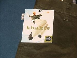 NWT Boy's Levi's SilverTab Khaki/Army Green 6 Pocket Cargo Jeans Medium 12