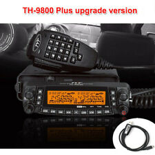 Latest version TYT TH-9800 50W Quad Band 29/50/144/430MHz Two Way Radio with USB