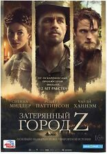 The Lost City of Z (2016) Charlie Hunnam Robert Pattinson MiniPoster Ads Flyers