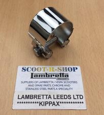 Lambretta Abrazadera De Escape 42 mm En Cromo-Nuevo