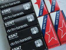 New Sovtek 6SN7 GT tube for WE 300B 2A3 45 845 211 KT88 KT66 El34 6L6 amplifier