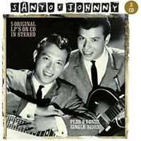SANTO & JOHNNY - 5 ORIGINAL LP'S ON CD  3 CD NEW
