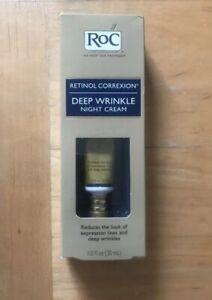 30ml Roc Deep Wrinkle Night Daily Day Cream Retinol Correxion SPF 30