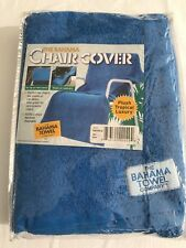 THE BAHAMA TOWEL Chair Towel Cover Sea Blue