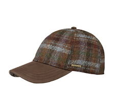 Stetson Wool Check Baseball Cap