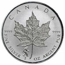 Sasquatch Privy Mark - 2016 Canada 1 oz. Silver Maple Leaf
