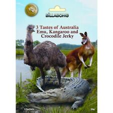 Exotic Jerky Try Pack - 3 Tastes of Australia EMU Kangaroo Crocodile