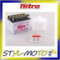 YB4L-B BATTERIA BATTERY NITRO CON ACIDO MBK CW 50RS BOOSTER SPIRIT 2000
